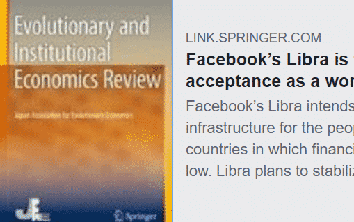 Facebook's Libra is far from broad acceptance as a world currency